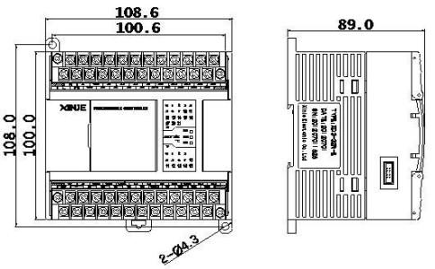 信捷PLC XD3-32RTRT-EC