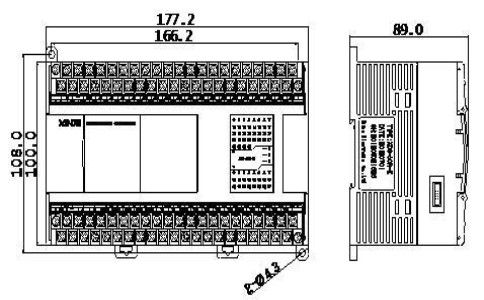 信捷PLC XD3-60RTRT-EC