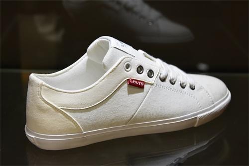 帆布鞋超纖皮革