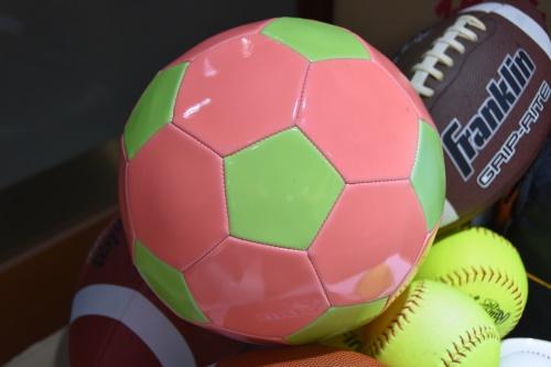人造皮革夜光足球
