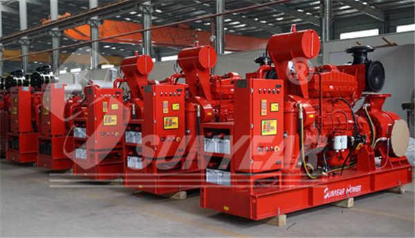 西安消防泵组