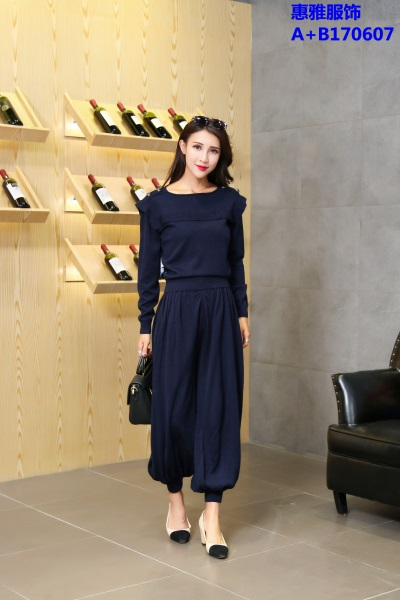 韩版针织衫女装批发