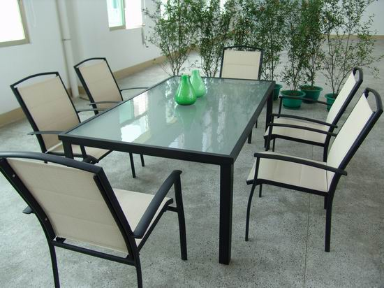 铝合金特斯林桌椅