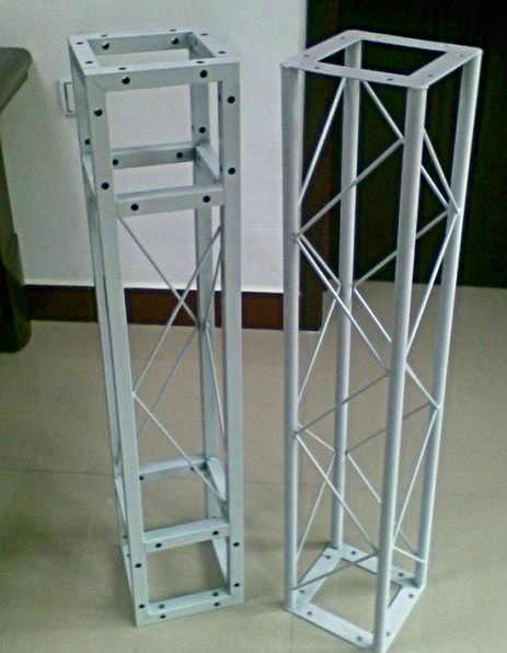 自带方头式固定桁架