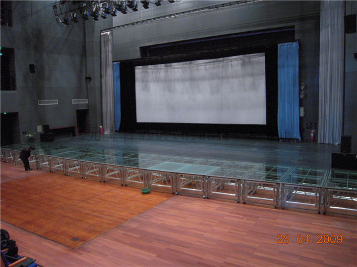 成都铝合金玻璃舞台
