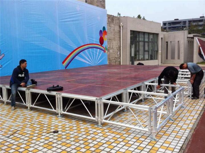 成都铝合金木板舞台批发