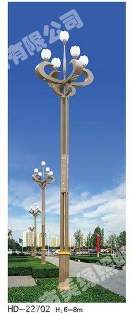 公园玉兰灯