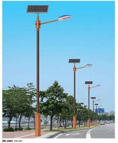简约太阳能路灯