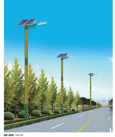 网格太阳能路灯