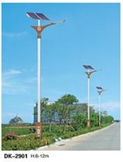 中式太阳能路灯