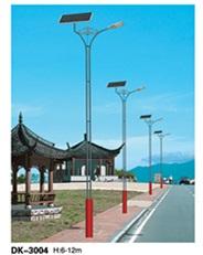 暖光太阳能路灯