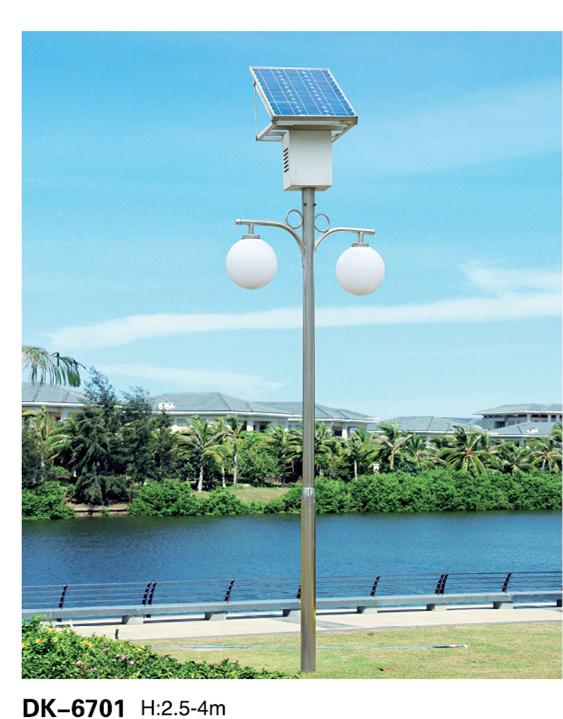 双灯太阳能路灯