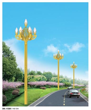 金黄玉兰灯