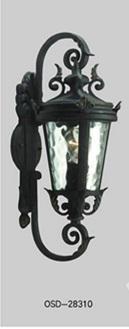 玻璃铜色欧式灯