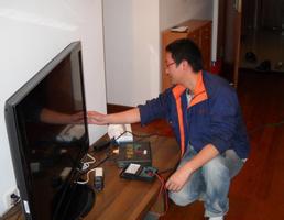 液晶电视花屏维修