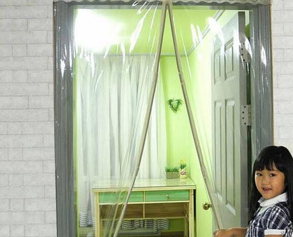 湖北武汉透明磁性门帘