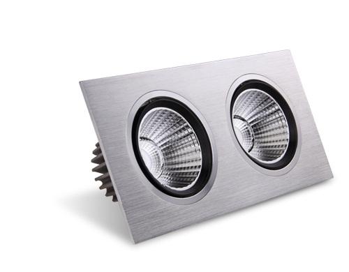 方形LED天花射灯