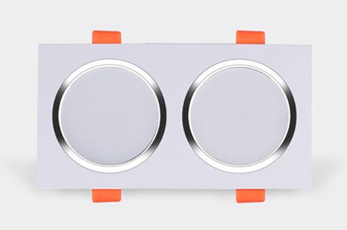 方型双头LED筒灯
