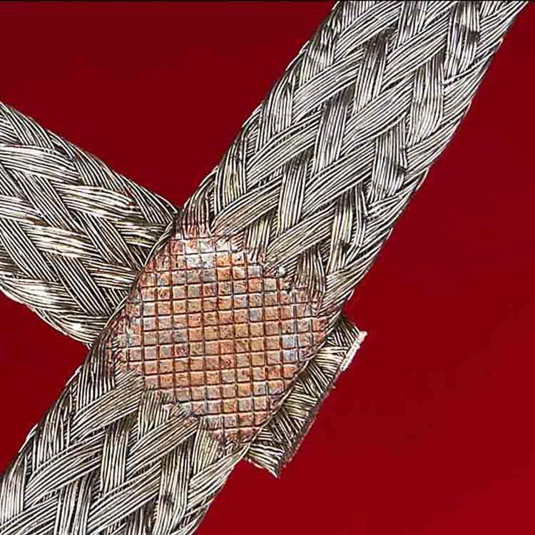 编织线焊接