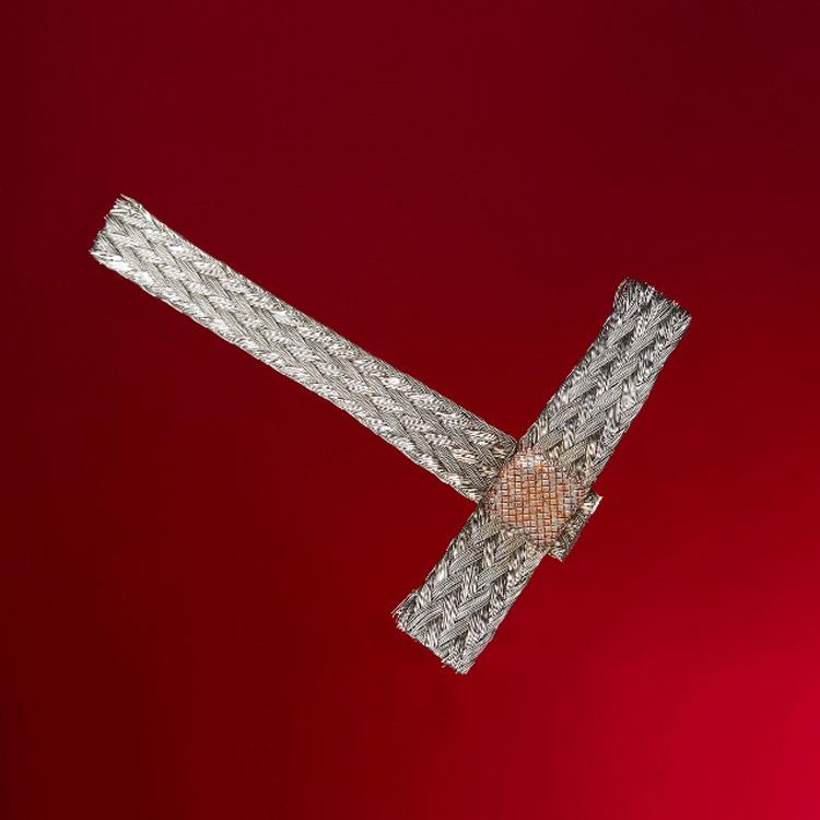 铜编织线焊接机