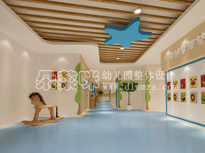 高档幼儿园室内装修