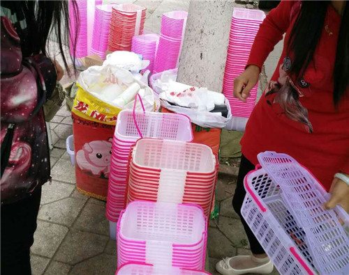 四川塑料樱桃草莓提篮