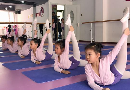 兒童學舞蹈的地方