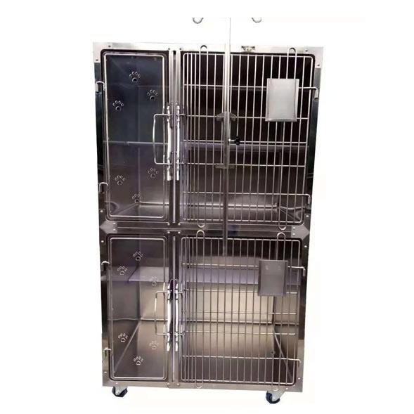 不锈钢高档宠物猫笼
