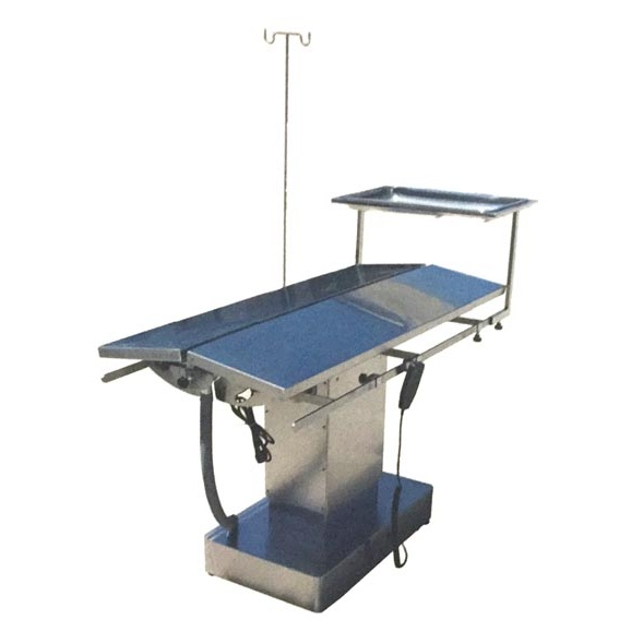 不锈钢单侧倾斜动物手术台