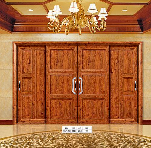 朗姿木质铝门窗