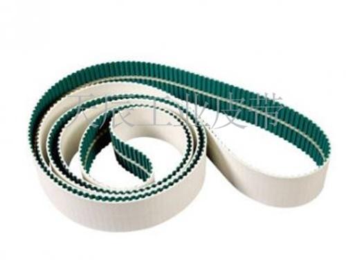 PU同步带底部加绿布及导条