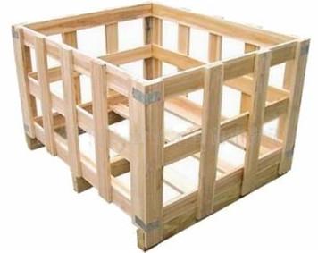 原木花架箱