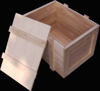 定做出口木质包装箱