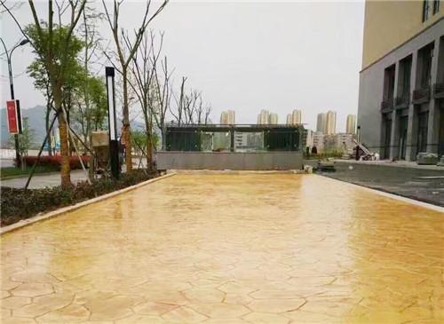重庆哪里有卖压花地坪材料