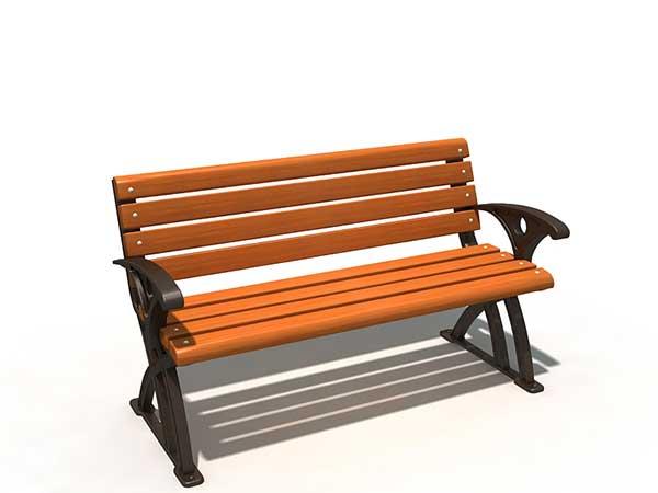 贵州钢木休闲椅