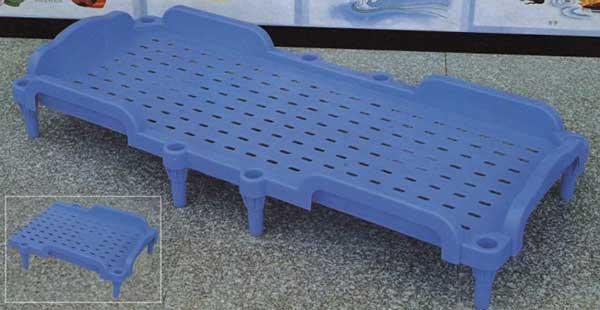 塑料折叠床