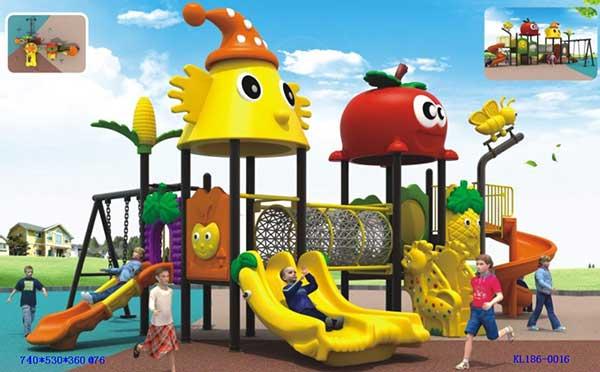 贵阳幼儿园组合滑梯