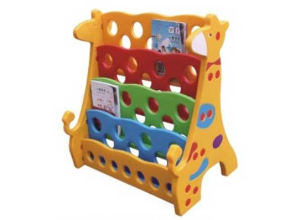 幼儿园塑料书架