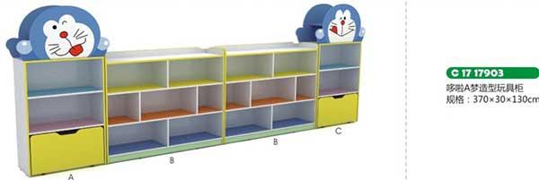 多拉A梦造型玩具柜