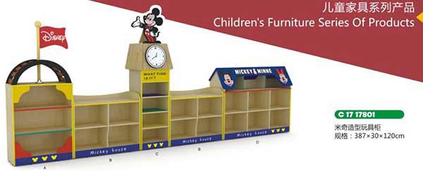 米奇造型玩具柜