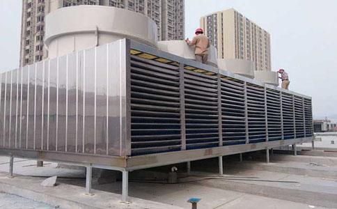 方形横流大型冷却塔