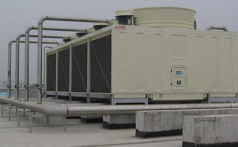 横流式大型冷却塔