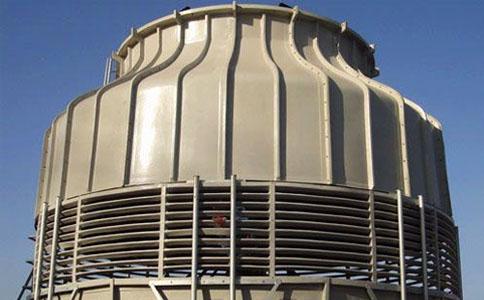 圆形逆流大型冷却塔