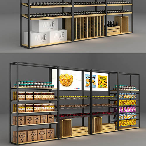 云南酒品展柜设计