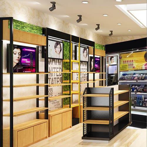 昆明化妆品展柜设计