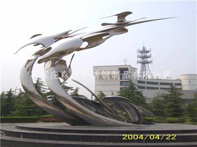 河北不锈钢雕塑安装
