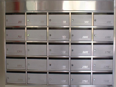 不锈钢信箱制作
