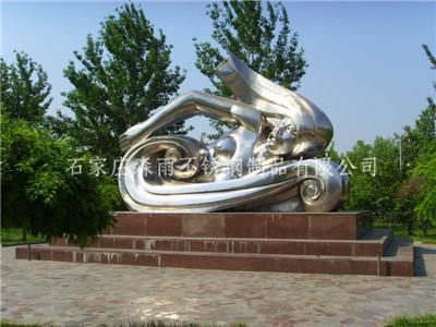 河北不锈钢雕塑制作