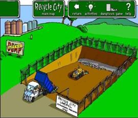 城市垃圾填埋
