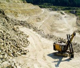 矿山开采施工